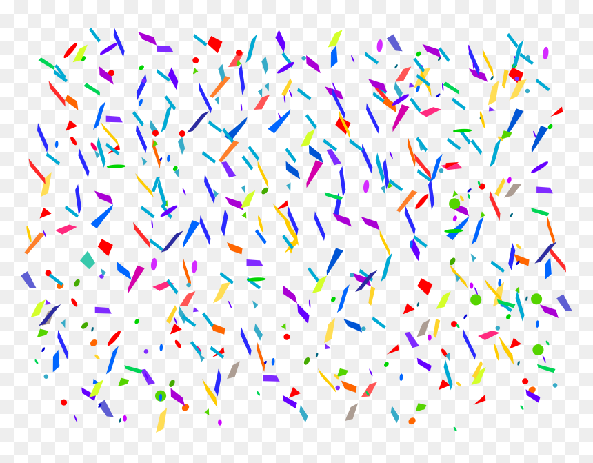 4 Confetti Background Confetti Gif Transparent Background Hd Png Download Vhv