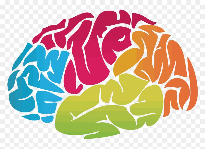 Transparent Brain Vector Png Brain Clipart Mental Health Png Download Vhv
