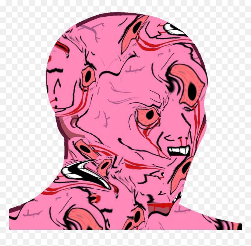 Wojak Png Download Wojak Sad Transparent Png Vhv