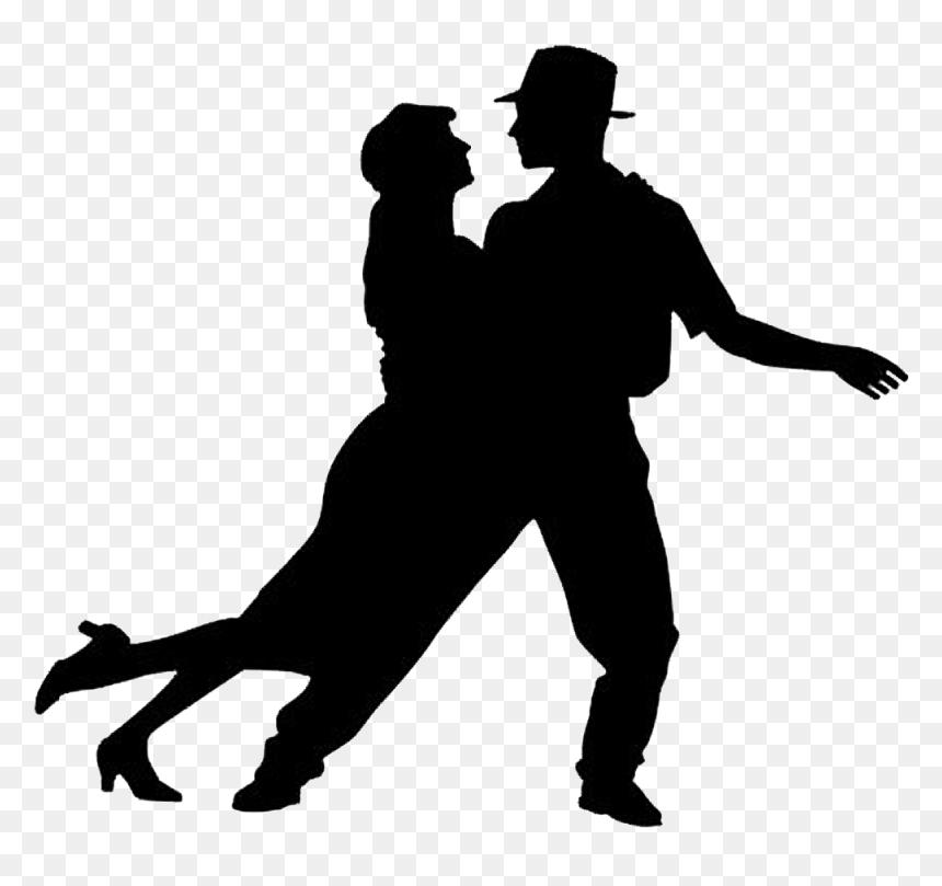 Salsa Latin Dance Swing Ballroom Dance Salsa Dance Silhouette Png Transparent Png Vhv
