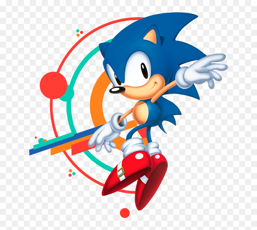 Classic Sonic The Hedgehog Tails Hd Png Download Vhv