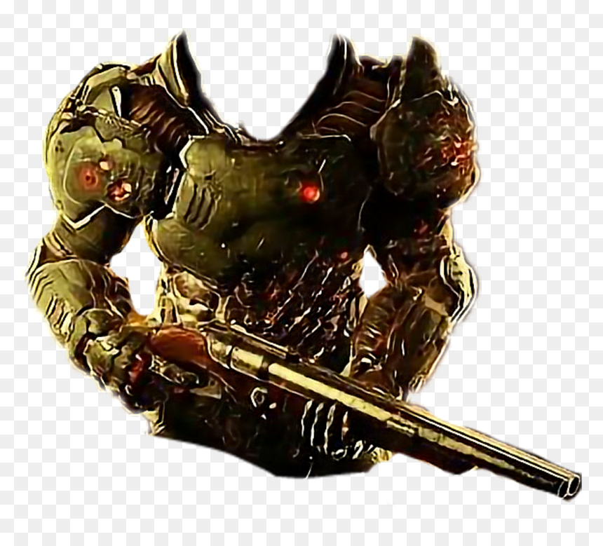 Doom Freetoedit Doomslayer Png Doom Png Transparent Png Vhv