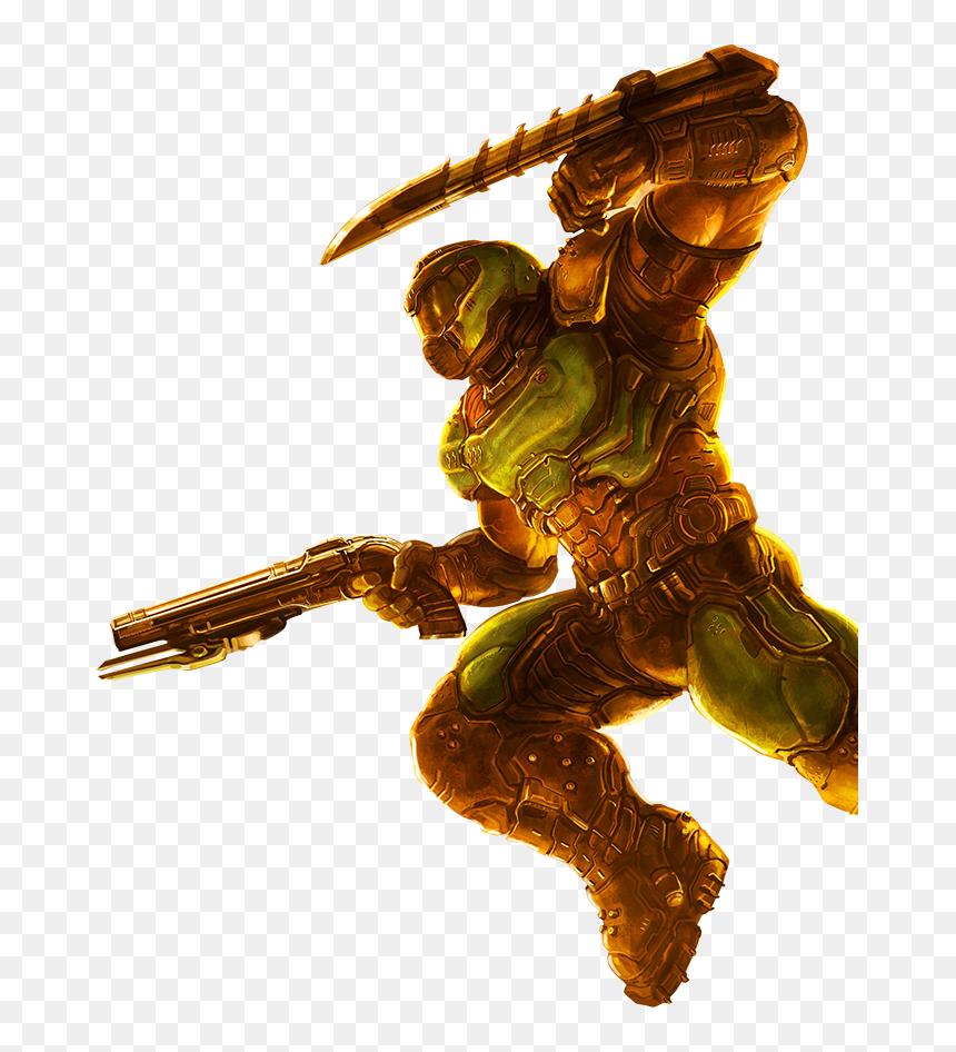 Doom Eternal Doom Slayer Png Transparent Png Vhv