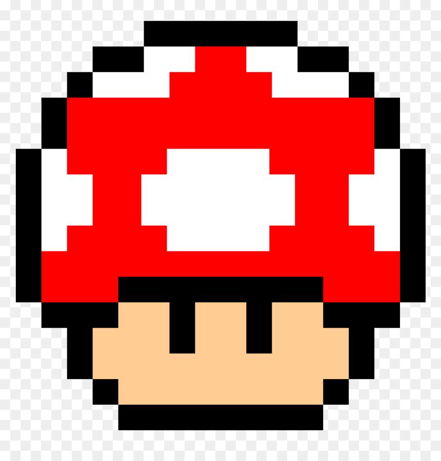 Thumb Image Mario Mushroom Pixel Png Transparent Png Vhv