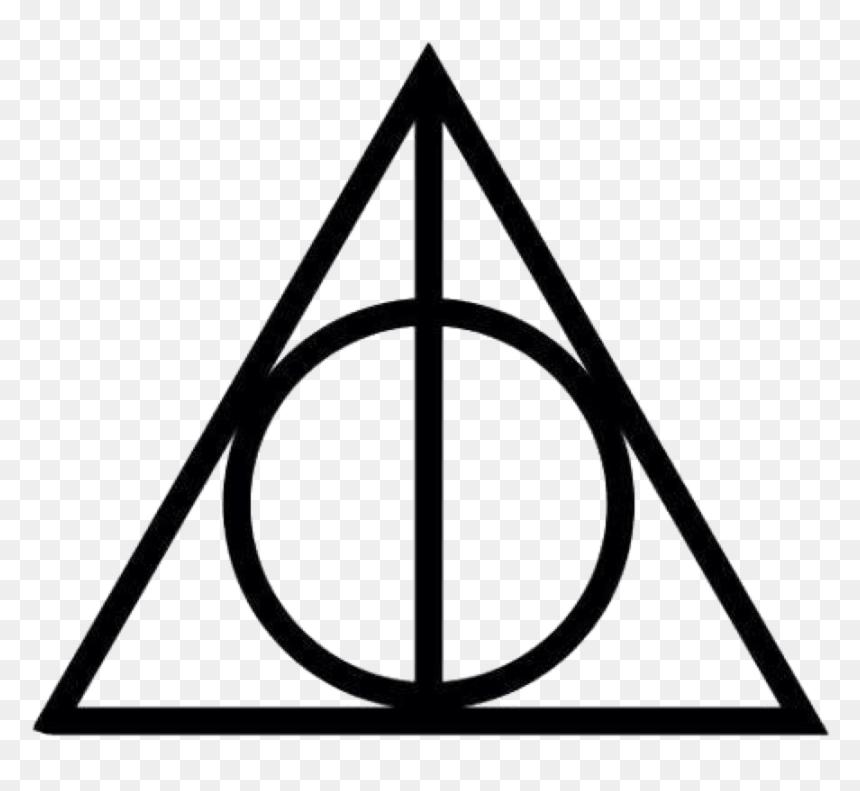 Symbol Harry Potter Deathly Hallows, HD Png Download - vhv