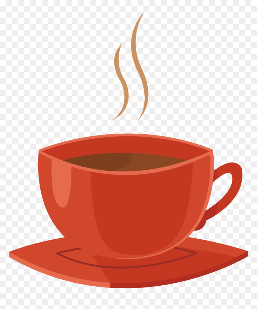 vector red cup of coffee png download vector tea cup png transparent png vhv vector red cup of coffee png download