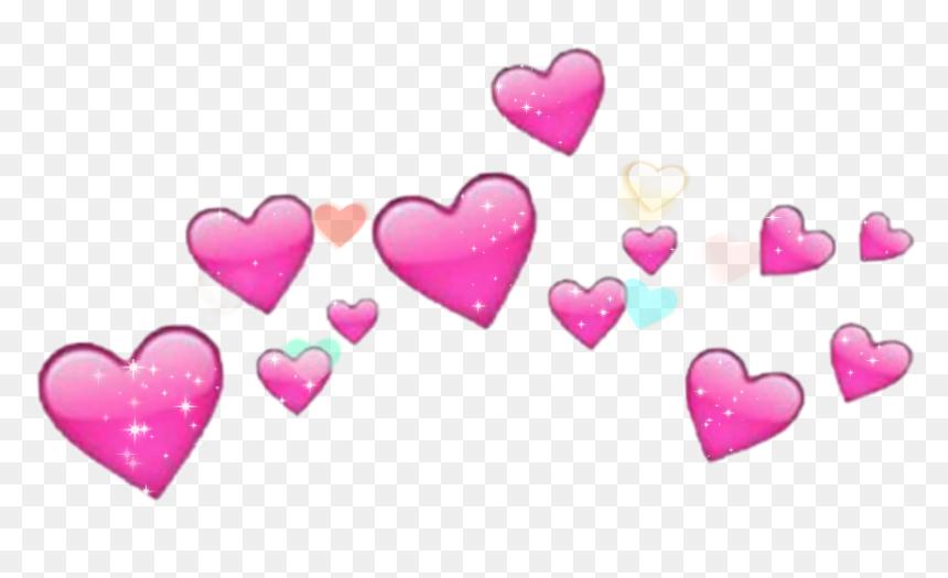 442 4421758 cute heart love pink colorful wallpaper splash ios