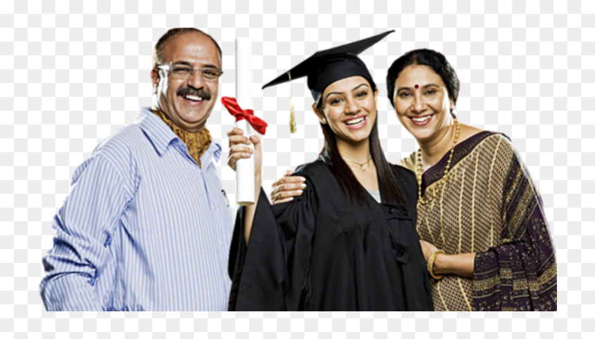 Things To Remember Before Applying For An Education Indian Student With Parents Hd Png Download Vhv