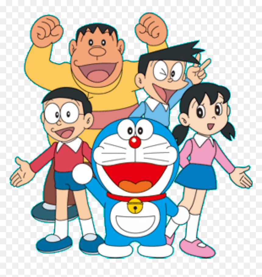 Doraemon Transparent Friend Png - Doraemon Characters Png, Png Download - doremon png