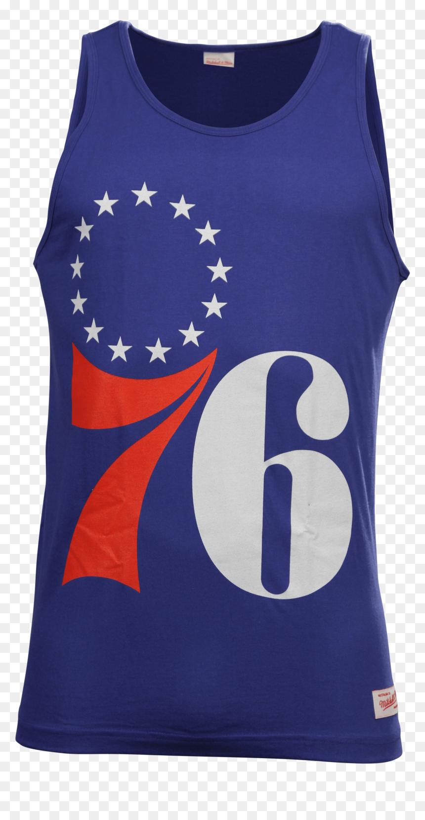 Ness Philadelphia 76ers Men S Team Logo Singlet Philadelphia 76ers Logo Hd Png Download Vhv