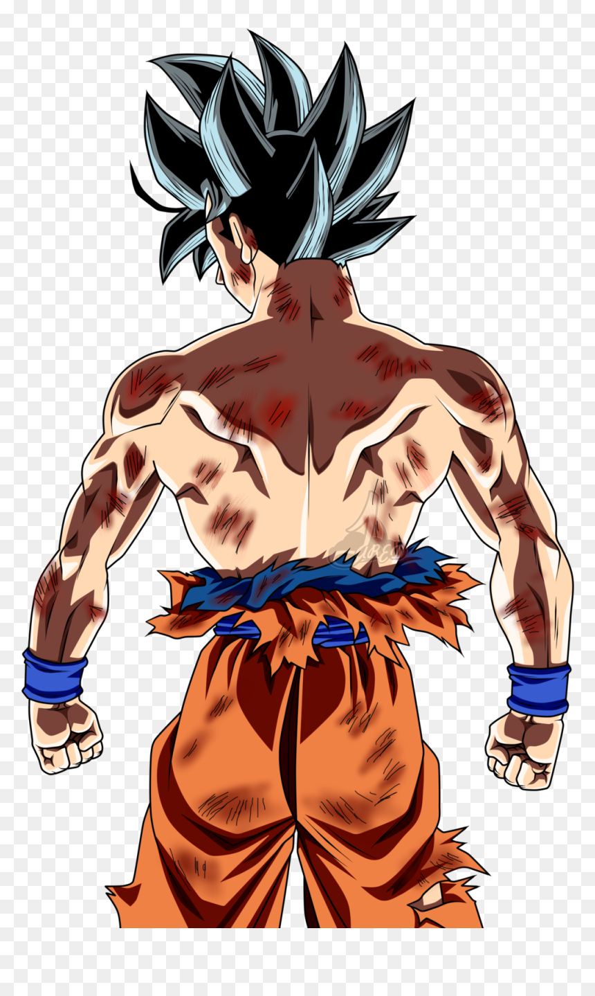 son goku png png download goku ultra instinct de dos transparent png vhv son goku png png download goku