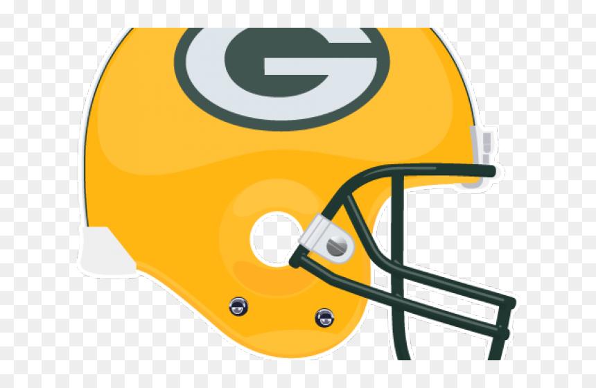 Helmet Clipart Green Bay Packers Clip Art Packers Helmet Hd Png Download Vhv