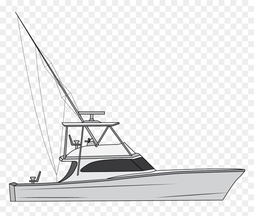 Png Royalty Free Types Of Fishing Boats Fishing Boat Drawing Easy Transparent Png Vhv