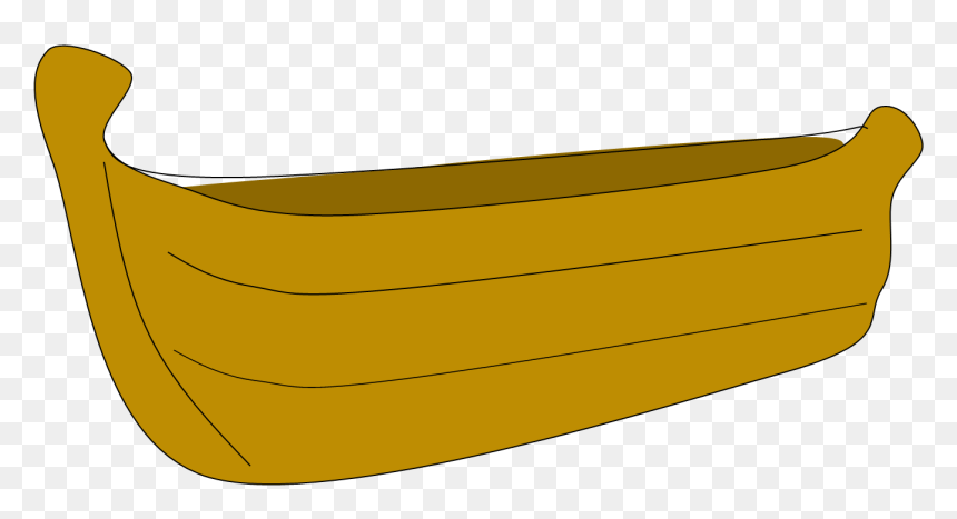 Fishing Boat Clipart Wooden Canoe Wooden Fishing Boat Cartoon Hd Png Download Vhv