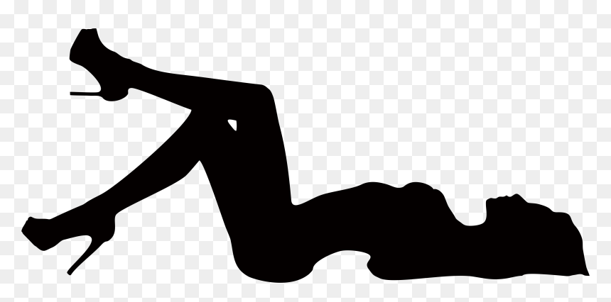 Sexy Woman Silhouette Png Transparent Png Vhv