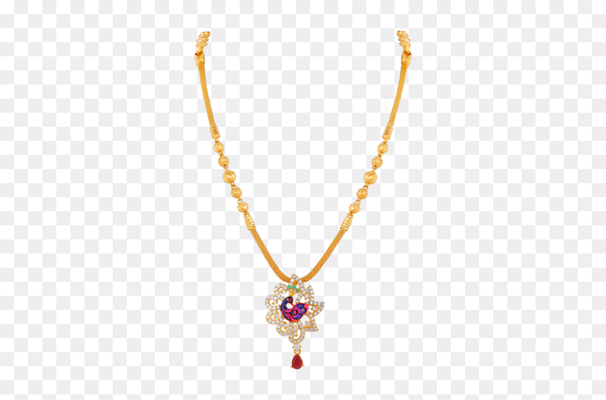 Simple Grt Jewellers Necklace Designs Hd Png Download Vhv