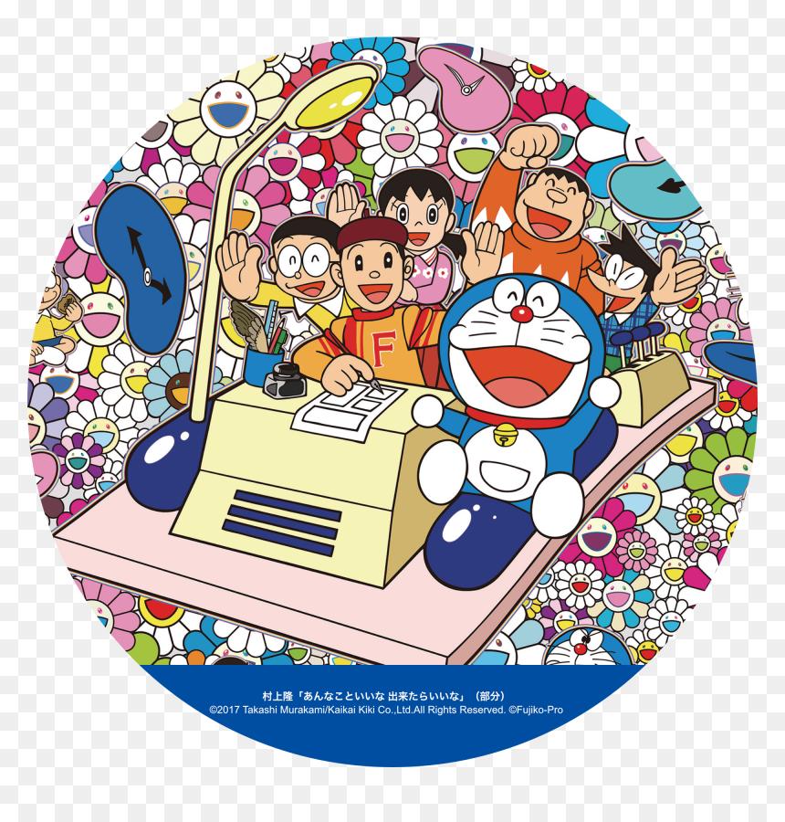 Please Make Your Doraemon - Murakami Takashi Doraemon, HD Png Download - doremon png