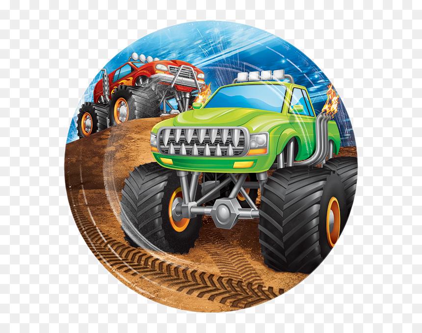 Transparent Monster Truck Clipart Black And White Birthday Monster Trucks For Kids Hd Png Download Vhv