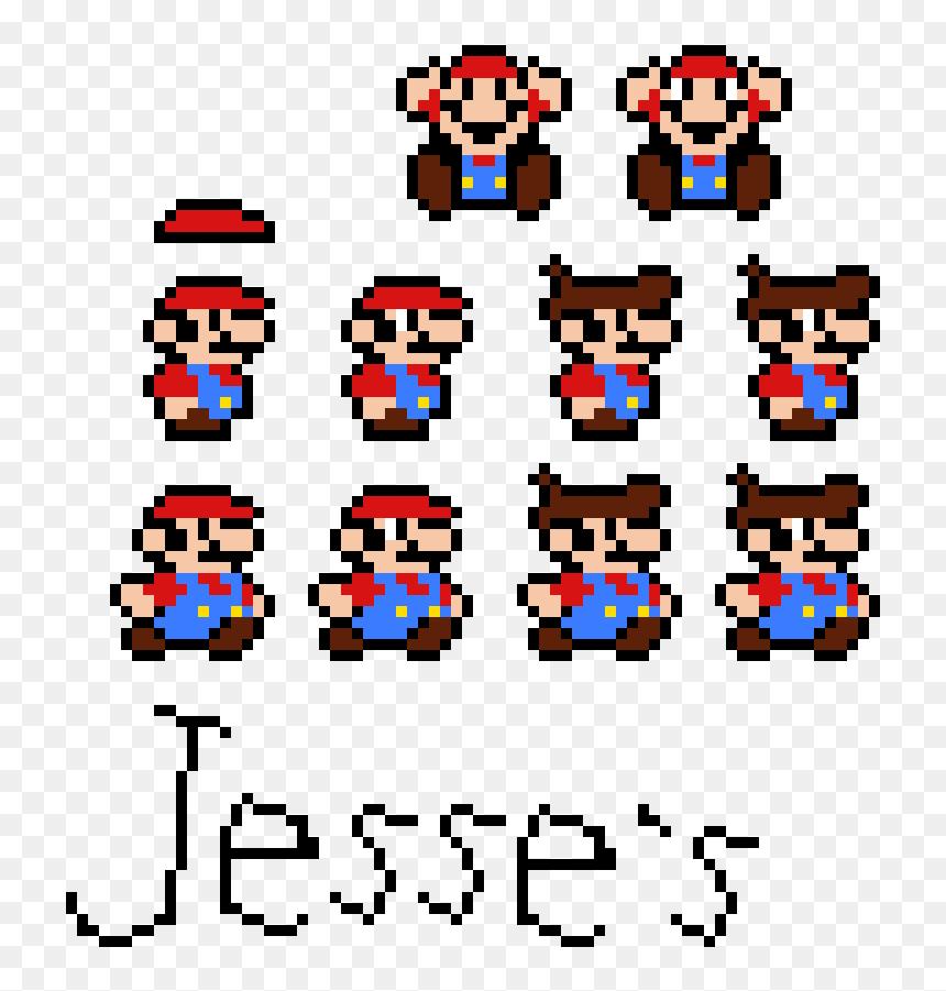 Jesse S Custom Small Mario Sprites Png Download Small Mario