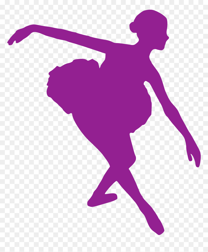 Silhouette Ballet Dancer Performing Arts Clip Art Ballerina Silhouette Bowing Hd Png Download Vhv
