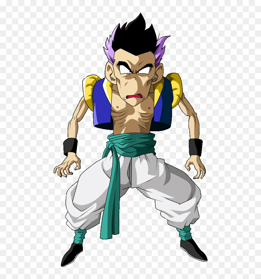 Dragon Ball Z Skinny Gotenks Hd Png Download Fusion De Goten Y Trunks Transparent Png Vhv