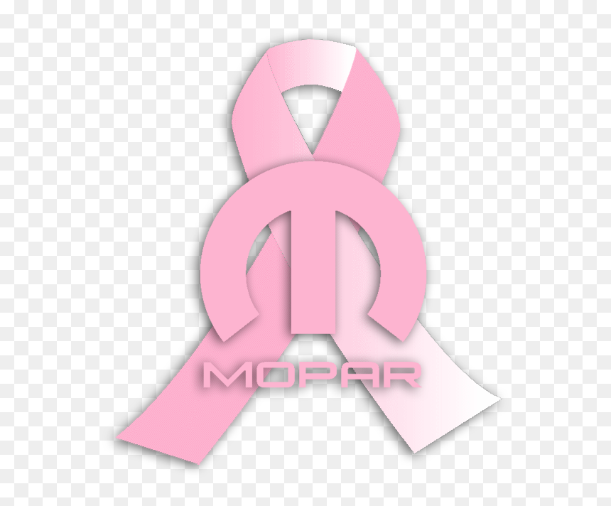 Mopar Breast Cancer Awareness Ribbon Illustration Hd Png