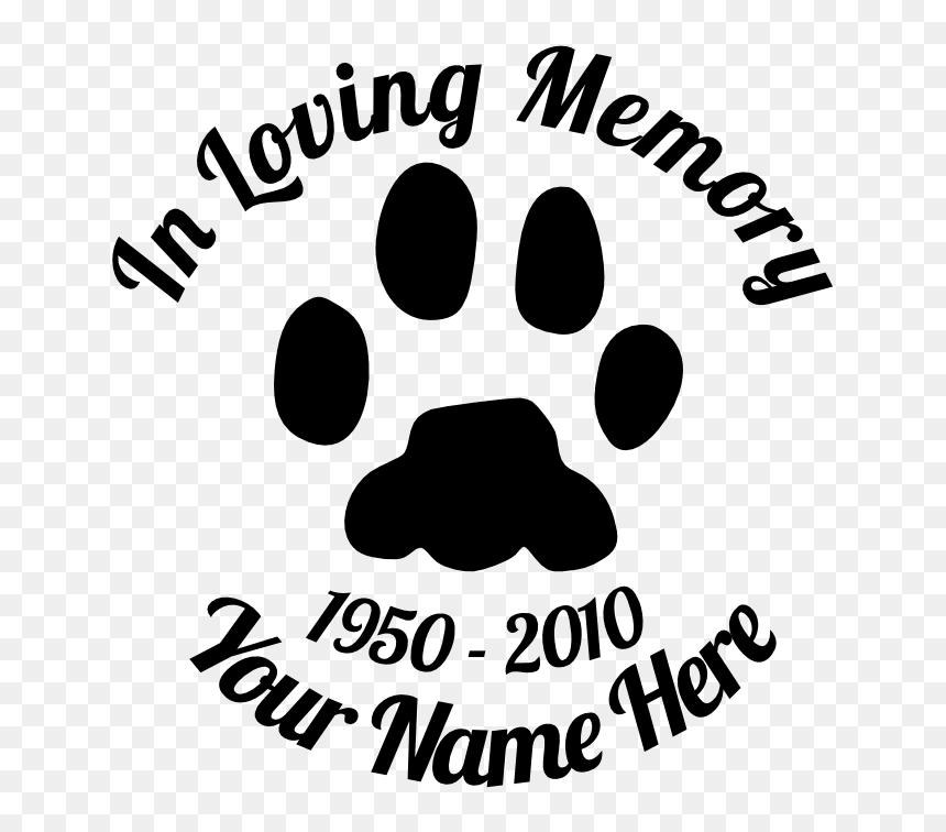 In Loving Memory Animal Paw Print Sticker Heart Paw Prints No Background Hd Png Download Vhv ✓ free for commercial use ✓ high quality images. in loving memory animal paw print