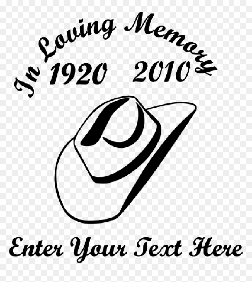 In Loving Memory Cowboy Hat Sticker Loving Memory Sticker Cowboy Hat Hd Png Download Vhv Pnghunter is a free to use png gallery where you can download high quality transparent png images. in loving memory cowboy hat sticker
