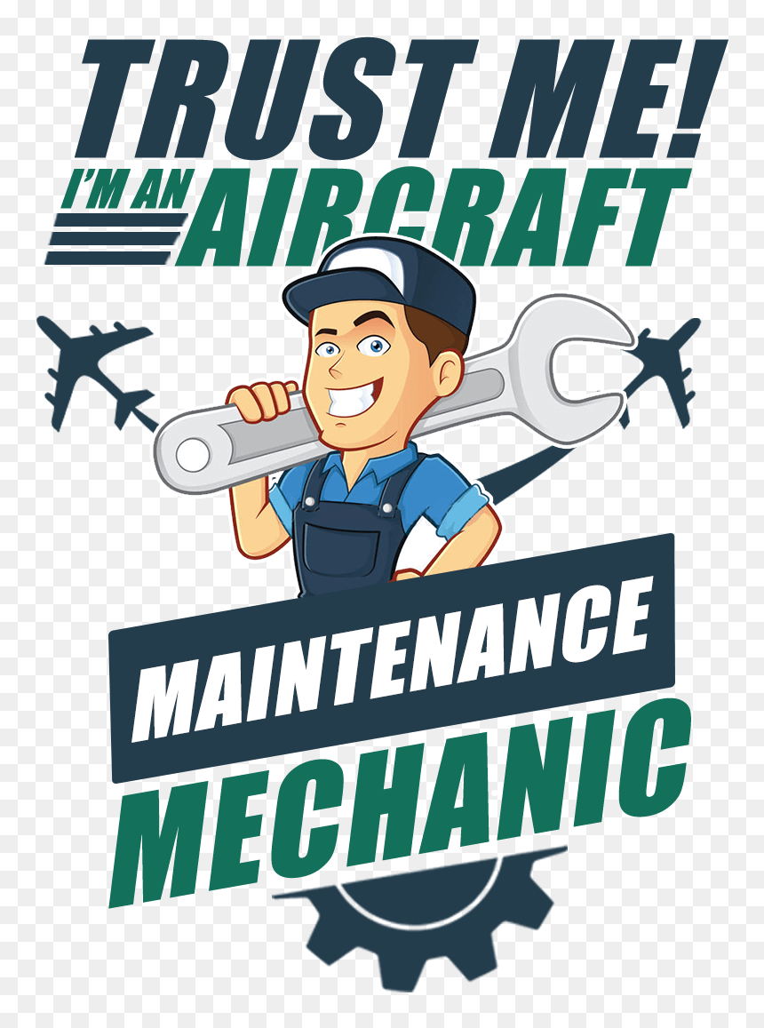 Aircraft Maintenance Mechanic Png Cartoon Transparent Png Vhv