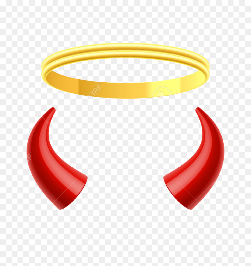 Sign Of The Horns Angel Devil Devil Horns Png Transparent Png Vhv