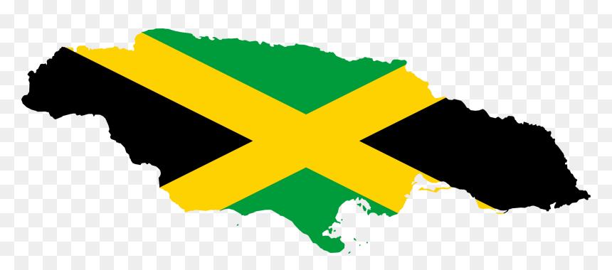 Jamaican Flag Png Jamaica Flag Map Transparent Png Vhv