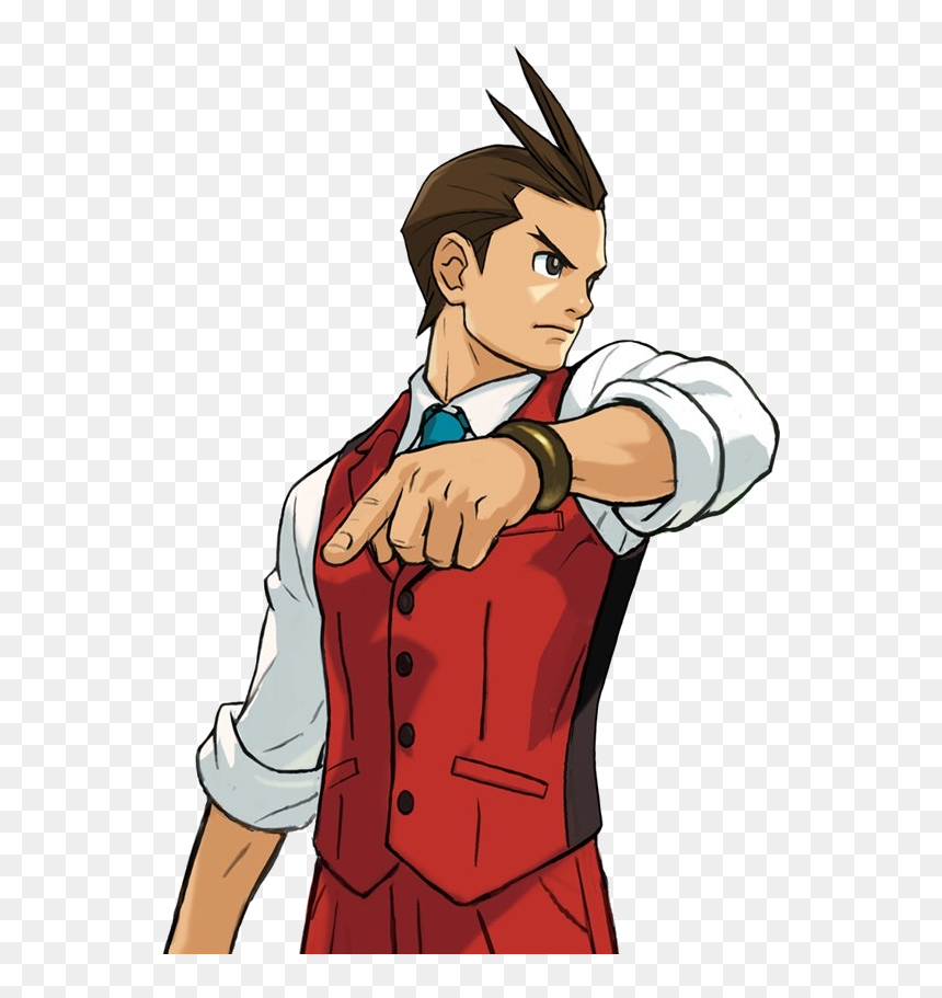 ace attorney objection sprite