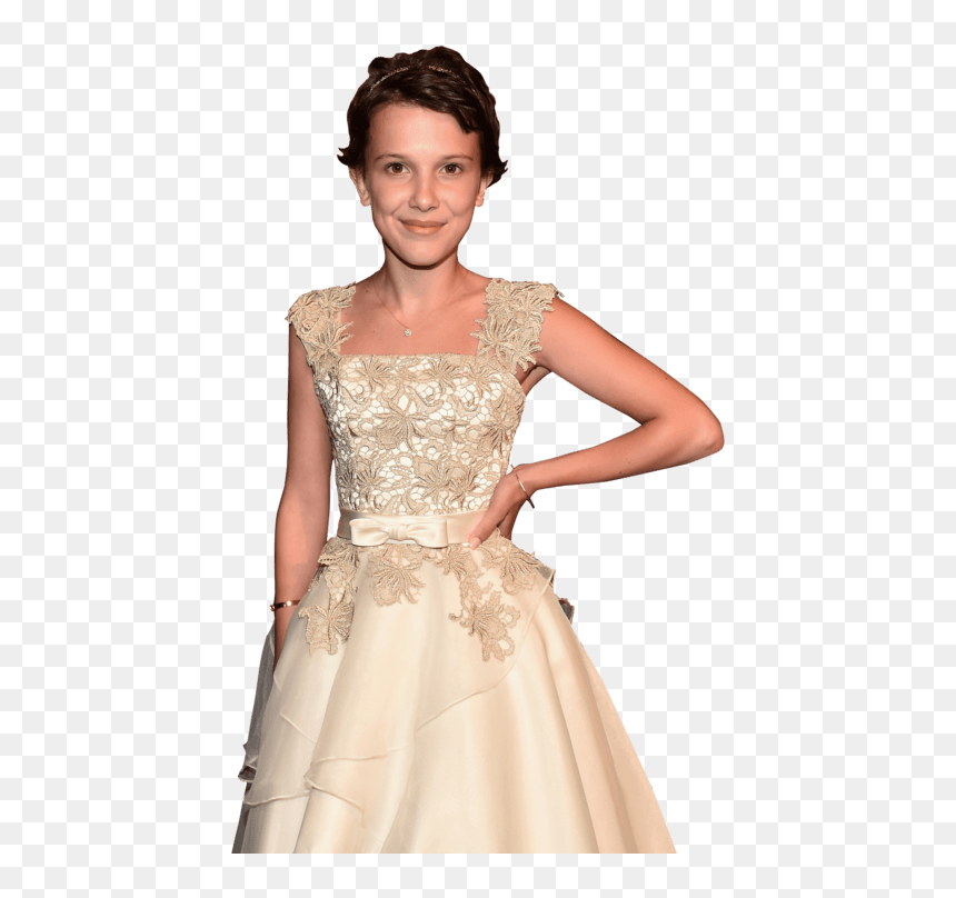 Millie Bobby Brown Short Hair Clip Arts Movies Millie Bobby Brown Hd Png Download Vhv