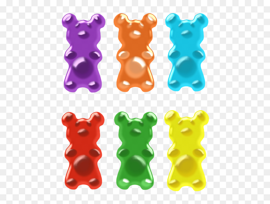 Gummy Bear Gummi Candy Clip Art - Gummy Bear Vector Free, HD Png ...