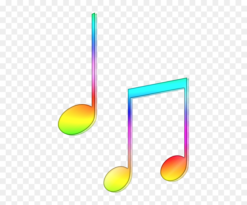 Colorful Music Note Png Transparent Png Vhv