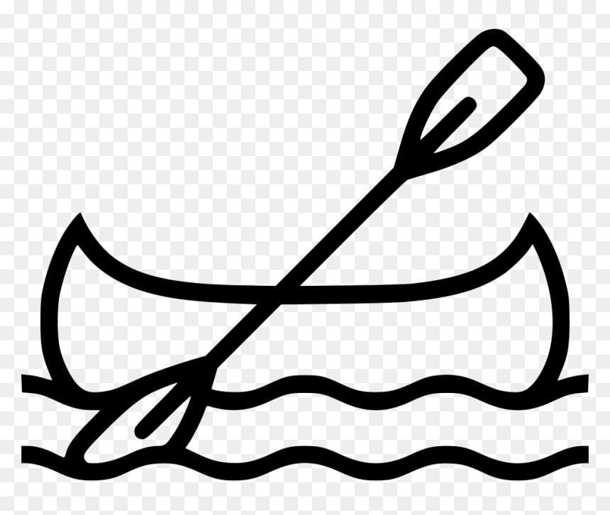 Canoe Clipart Free For Download - Kayaking Clip Art, HD Png Download - vhv