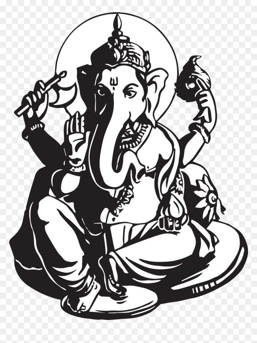 Ganesh Chaturthi Related Drawing Hd Png Download Vhv
