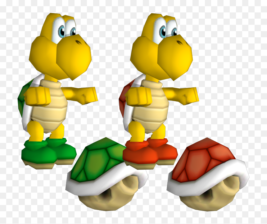 Koopa Troopa Of New Super Mario Bros Wii Hd Png Download Vhv