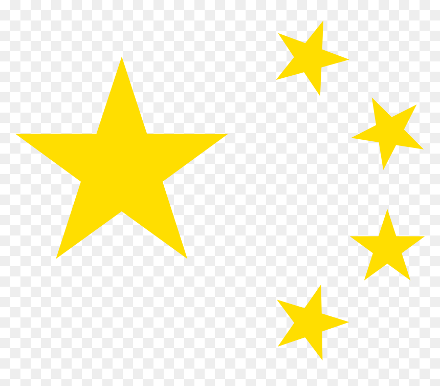 Chinese Flag Yellow Stars Hd Png Download Vhv