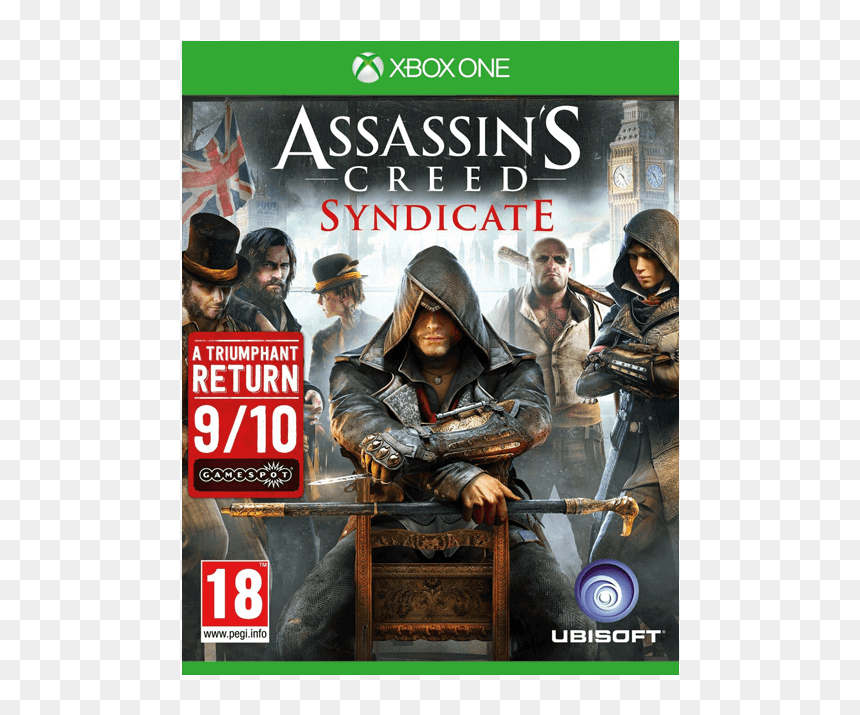 Assassins Creed Syndicate Xbox One Hd Png Download Vhv