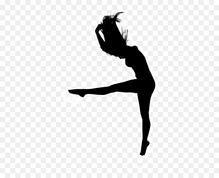 Collection Of Free Dancer Drawing Contemporary Dance Contemporary Dance Silhouette Png Transparent Png Vhv