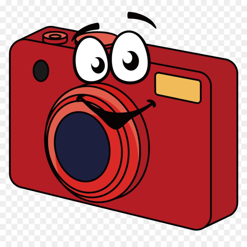 Digital Camera Cartoon Clip Art Appareil Photo Dessin Hd Png Download Vhv