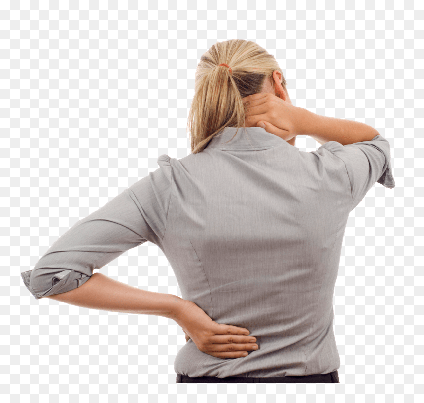 Back Pain Png Image Back Neck Pain Transparent Png Vhv