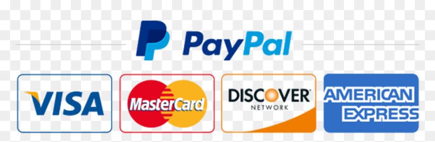 Visa Mastercard Discover Paypal Logo, HD Png Download - vhv