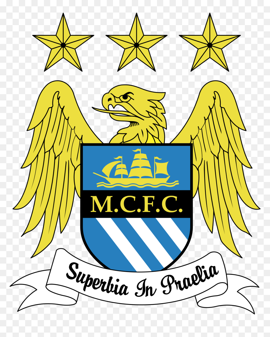 Manchester City Fc Logo Vector Hd Png Download Vhv