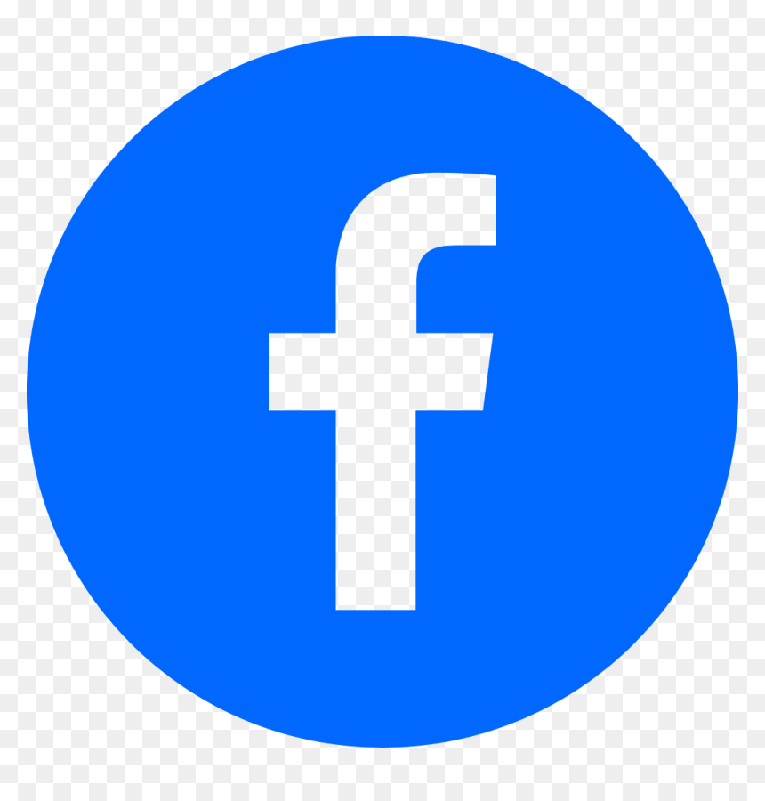 Fb Round Logo Png, Transparent Png - vhv