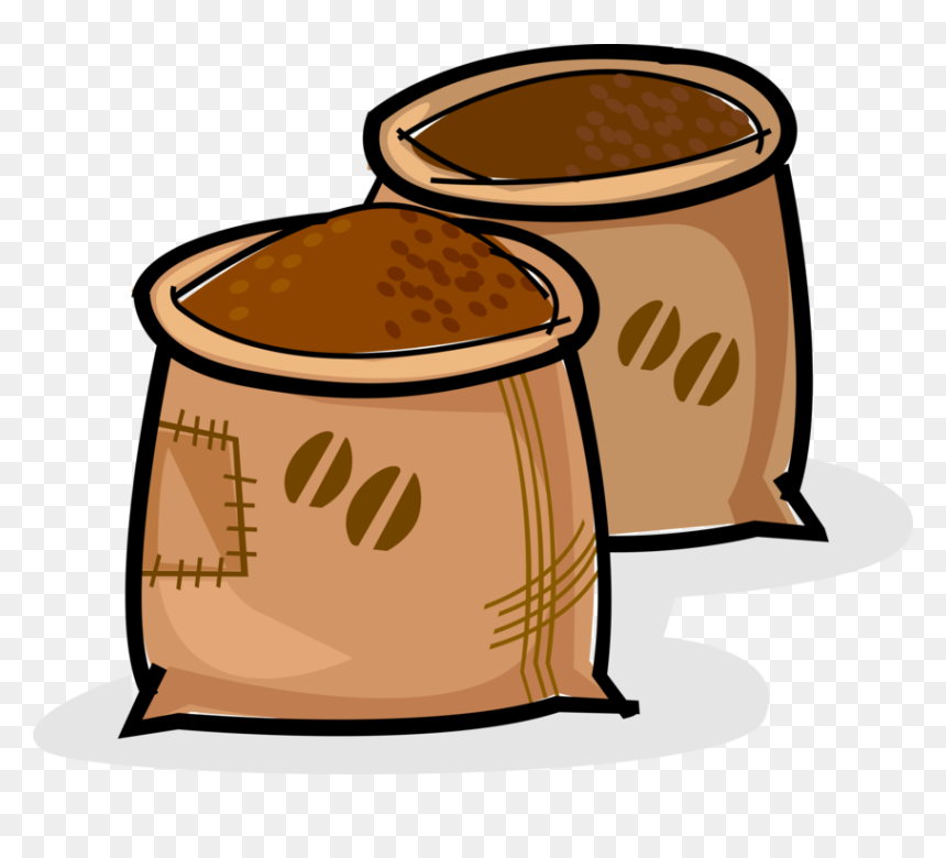 transparent coffee bean vector png coffee beans sack clipart png download vhv transparent coffee bean vector png