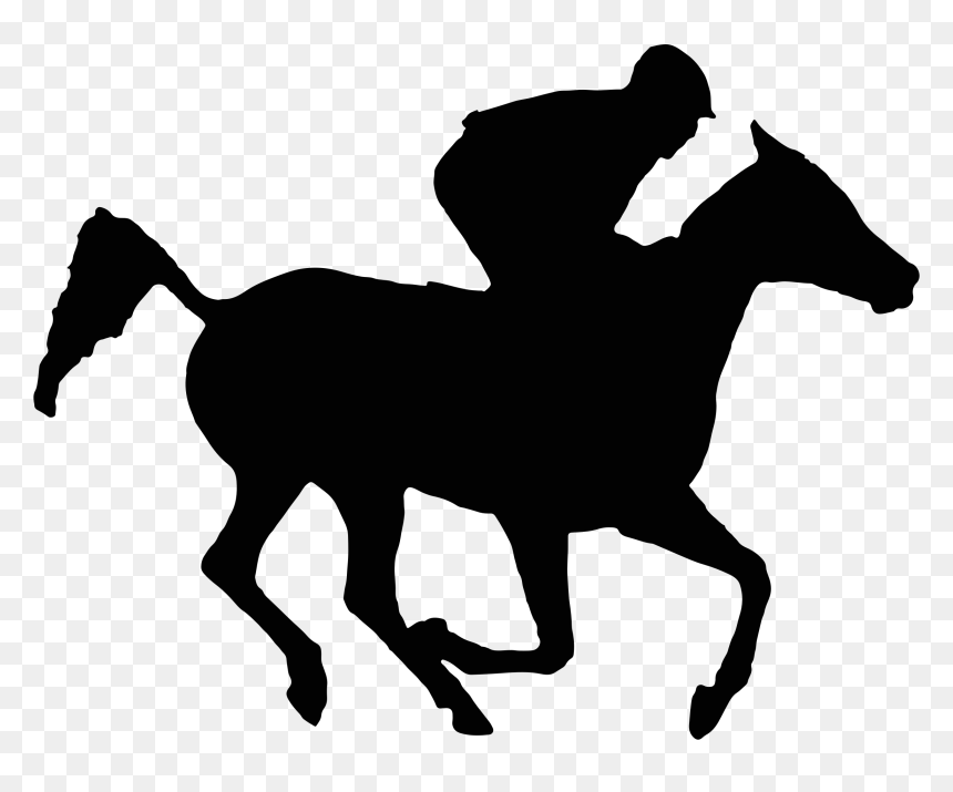 Vector Royalty Free Download Racing Horse Silhouette Horse Racing Silhouette Hd Png Download Vhv
