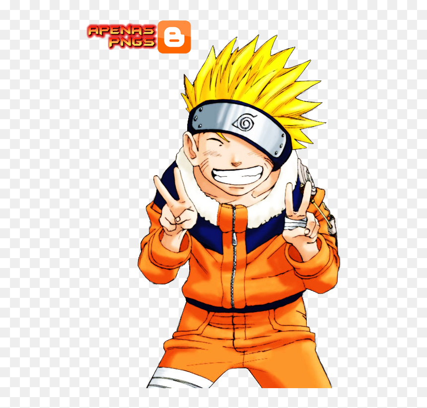 Naruto Na Paz Render E Png Anime Doing Peace Sign Transparent Png Vhv