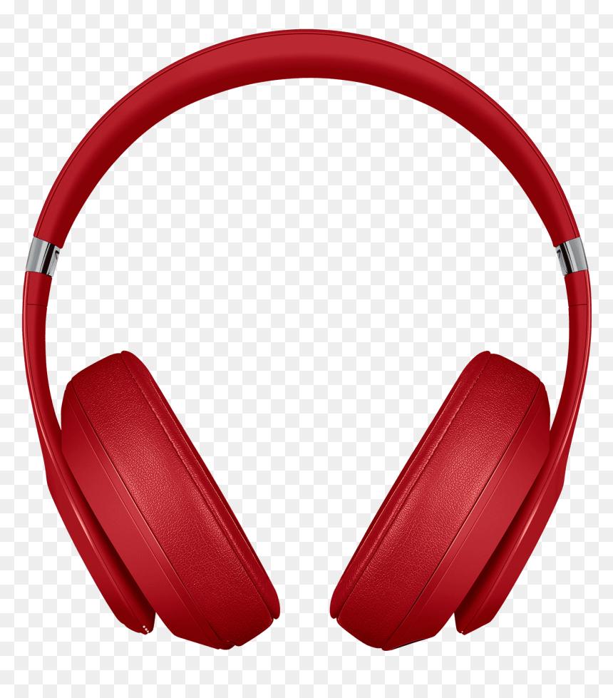 Headphone Clipart Red Headphone Beats Studio 3 Wireless Headphones Hd Png Download Vhv